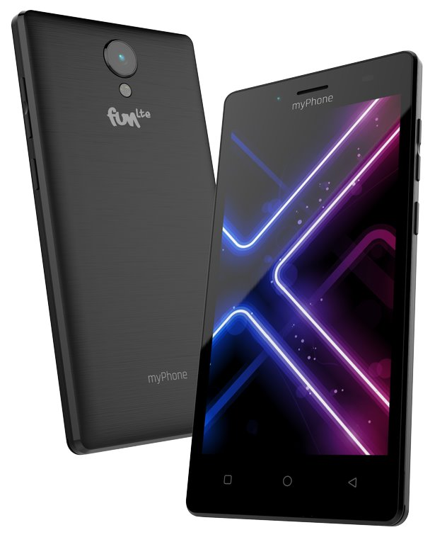 "myPhone Fun LTE 5"" IPS/ 1280x720/ 16GB/1GB RAM/ 8Mpx+5Mpx/Android 7"
