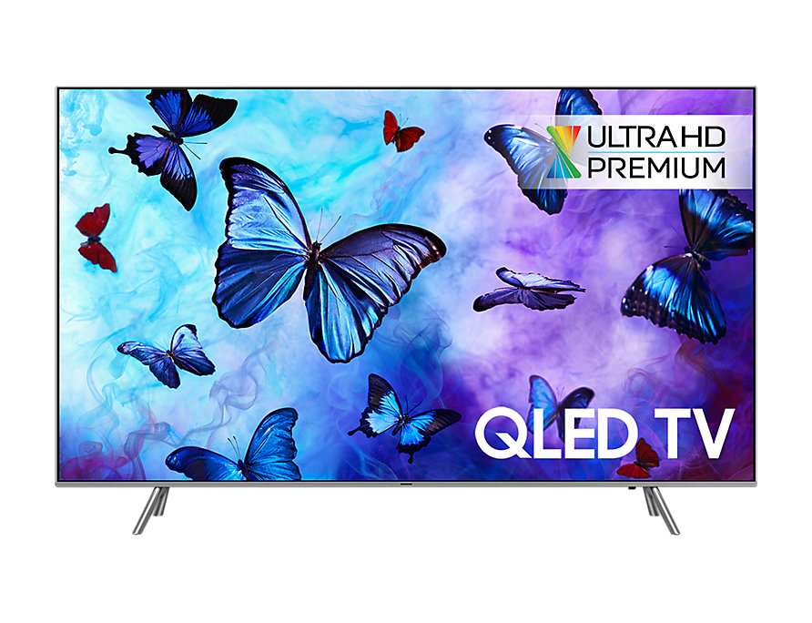 "SAMSUNG QE55Q6FN Smart QLED TV, 55"" 138 cm, UHD 3840x2160, DVB-T/T2/S/S2/C, Tizen OS, HDR 1000, WiFi, HbbTV 2.0"