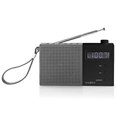 Rádio NEDIS RDFM2210BK GREY/BLACK