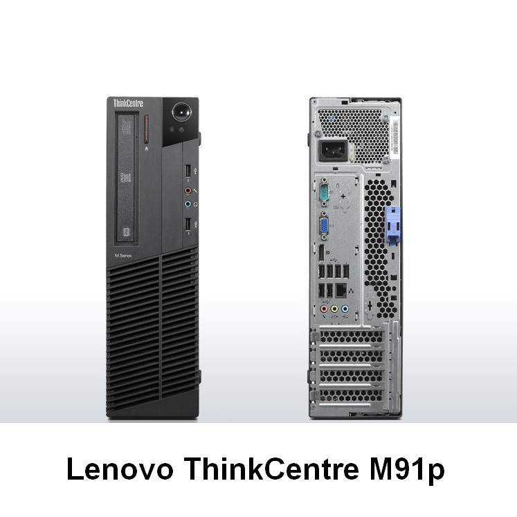 Lenovo ThinkCentre M91p SFF; Core i5 2400 3.1GHz/4GB DDR3/500GB HDD