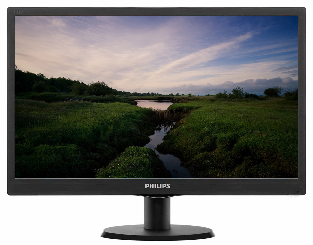 "PHILIPS 18,5"" LED 193V5LSB2/ 1366x768/ TFT/ 16:9/ 5ms/ 200cd/m2/ D-SUB/ VESA 100x100/ černý"
