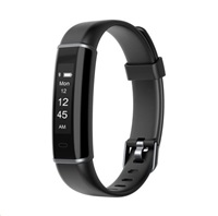 "UMAX U-Band 120HR Black - 0.87"" Displej, USB port na modulu, BT, Baterie 45mAh"