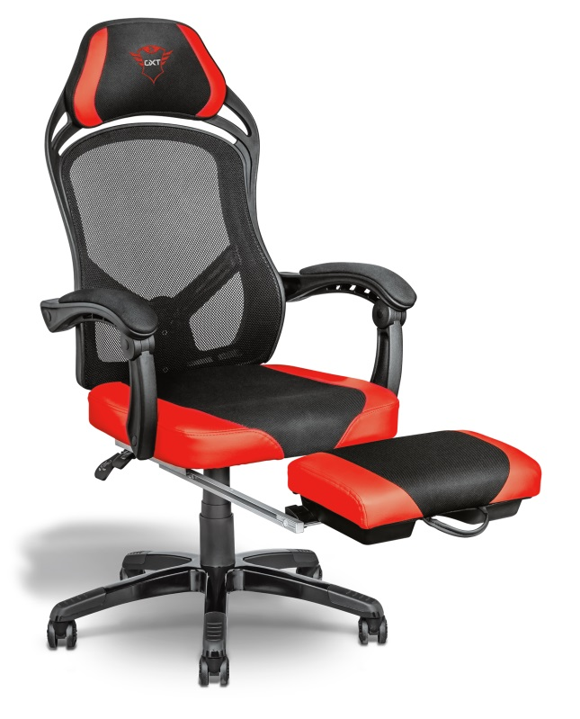Herní křeslo TRUST GXT 706 Rona Gaming Chair with footrest