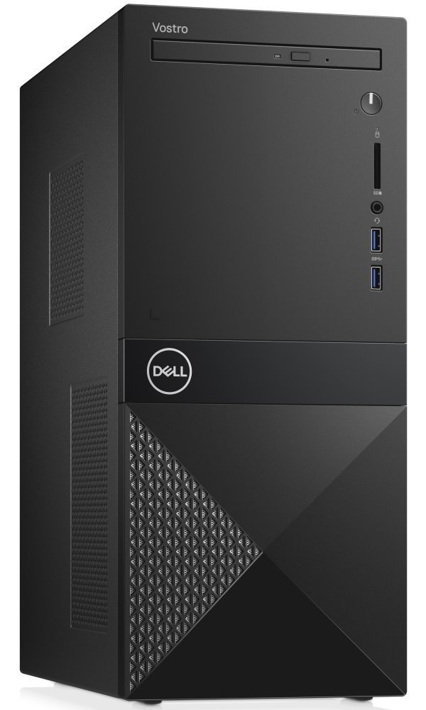 DELL Vostro 3670/ i3-8100/ 8GB/ 128GB SSD + 1TB (7200)/ DVDRW/ Wifi/ W10Pro/ 3YNBD on-site