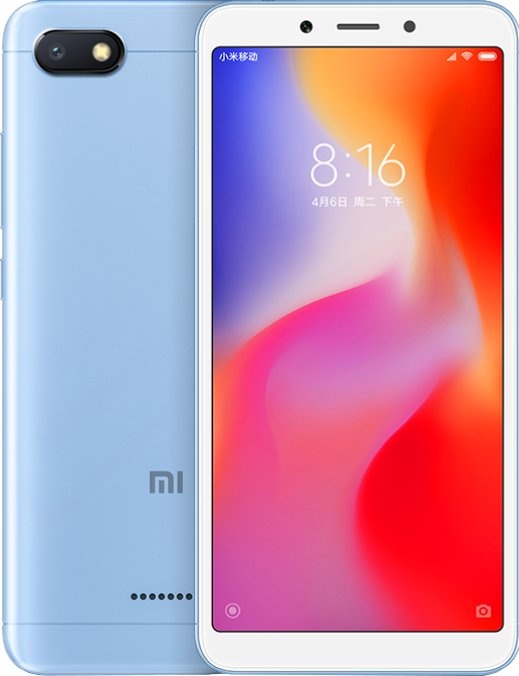 Xiaomi Redmi 6A (2GB/16GB) Blue + powerbanka