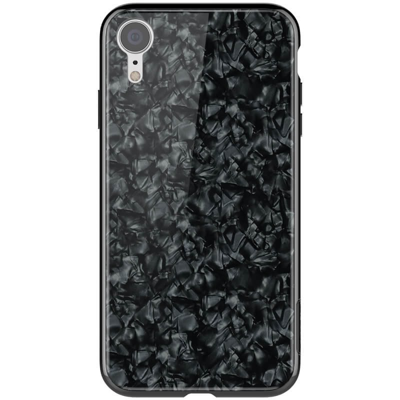 Nillkin SeaShell Hard Case Black pro iPhone XR