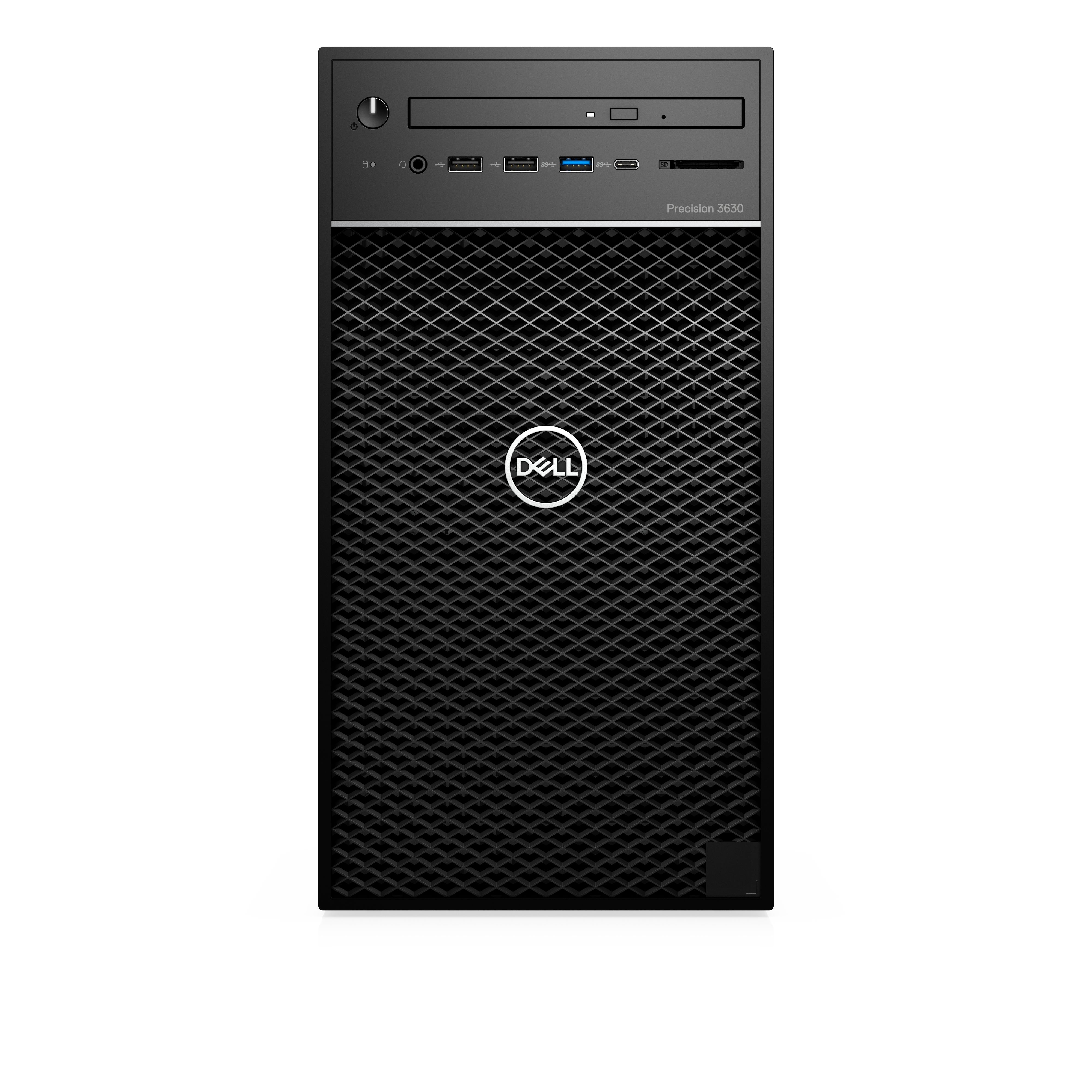 Dell Precision T3630/Core i7-8700/8GB/1TB 7.2k/Intel HD 630/PWR 460W/W10Pro/vPro/3Y PS NBD