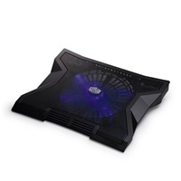 chladicí podstavec Cooler Master NotePal XL pro NTB 9-17'' black, 23cm blue led fan, 3port USB hub