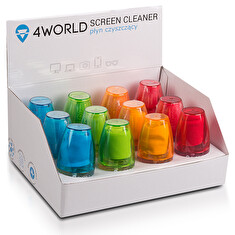 4World 12x Čistící Gel 50ml + hadřík BOX