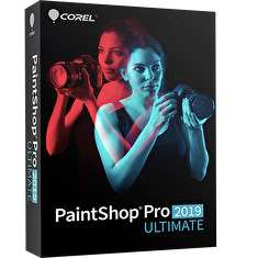 PaintShop Pro 2019 ULTIMATE ML Mini Box EN/FR/NL/IT/ES