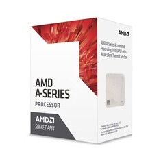 CPU AMD A6 9400 (Bristol Ridge), 2-core, 3.7GHz, 1MB cache, 65W, socket AM4, VGA Radeon R5, BOX