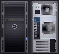 DELL SERV DELL PowerEdge T130/ E3-1230v6/8GB/1x2TB/DVDRW/H330/iDRAC8Basic/3Y NBD
