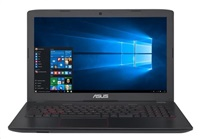 "ASUS Gaming G552VW-DM345T/ i5-6300HQ/ 8GB/ 1TB-5400 + SSD 256GB/ 15,6"" FHD/ DVD-RW/ GTX960M 2GB/ W10/ šedý"