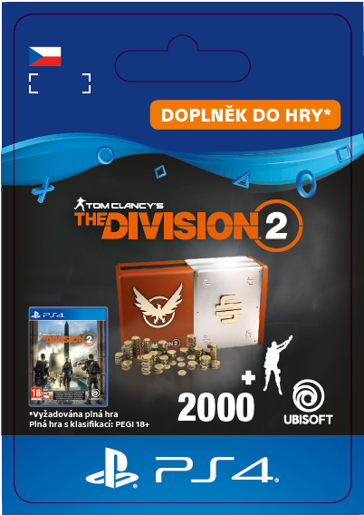 ESD CZ PS4 - TomClancy'sTheDivision2–Welcome Pack