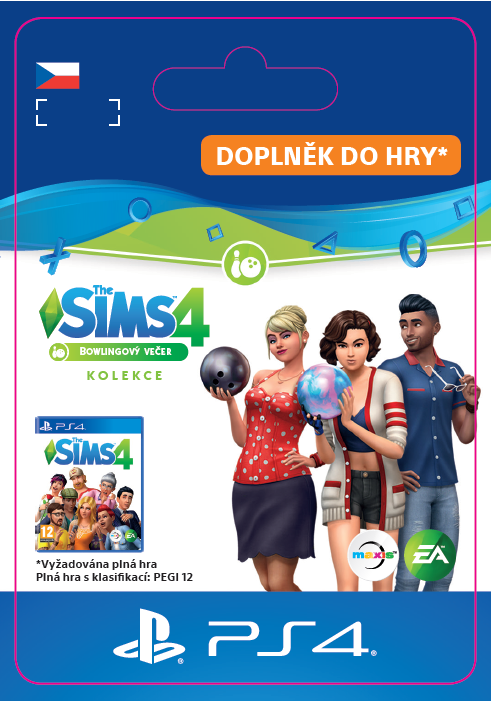 ESD CZ PS4 - The Sims™ 4 Bowling Night Stuff