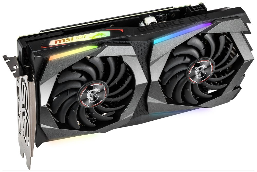 MSI GeForce GTX 1660 GAMING X 6G / PCI-E / 6GB GDDR5 / HDMI / 3x DP