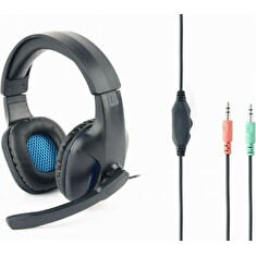 Gembird Gaming headset GHS-04 with volume control, matte black