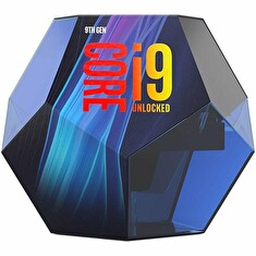 INTEL Core i9-9900KF / Coffee-Lake R / LGA1151 / max. 5,0GHz / 8C/16T / 16MB / 95W TDP / bez VGA / BOX bez chladiče