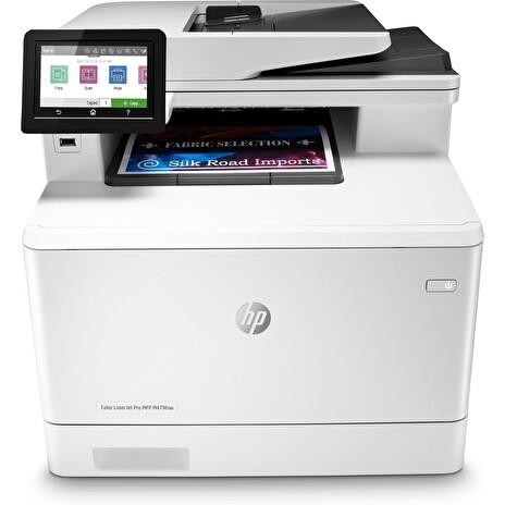 HP Color LaserJet Pro MFP M479fnw (A4, 27/27ppm, USB 2.0, Ethernet, Wi-Fi, Print/Scan/Copy/Fax)