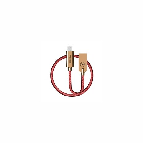 Mcdodo Knight Series USB AM To Micro USB Data Cable (1 m) Red