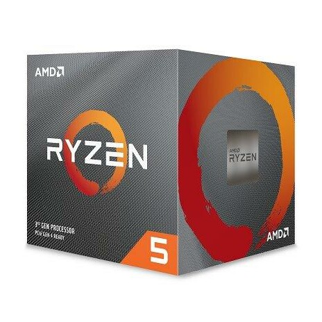 AMD Ryzen 5 6C/12T 3600X (3.8GHz,35MB,95W,AM4) box + Wraith Spire cooler