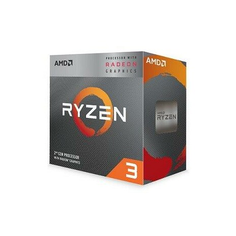 AMD Ryzen 3 4C/4T 3200G (3.6GHz,6MB,65W,AM4)/Radeon™ RX Vega 8/box + Wraith Stealth cooler