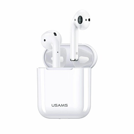 USAMS LP Dual Bluetooth Stereo Headset White