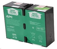 APC Replacement Battery Cartridge #124, BR1200GI, BR1200G-FR, BR1500GI, BR1500G-FR, SMC1000I-2U