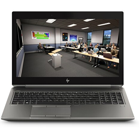 HP Zbook 15 G6, i7-9850H, 15.6 FHD, T1000/4GB , 16GB, SSD m.2 512 GB NVMe TLC, W10Pro, 3/3/3, no webcam