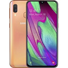 "Samsung Galaxy A40 (A405) - orange 5,9"" AMOLED/ DualSIM/ 64GB/ 4GB RAM/ LTE/ Android 9"