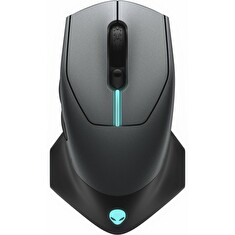 DELL myš Alienware Wireless /bezdrátová/ Gaming Mouse/ AW610M Dark Side of the Moon