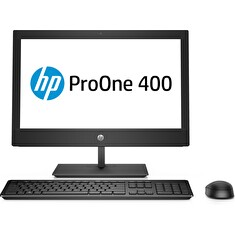 HP ProOne 400G5 AiO 20NT i3-9100T, 1x8 GB, HDD 1 TB Intel HD, WiFi a/b/g/n/ac + BT,kl. a myš, DVDRW,DP+HDMI, Win10Pro