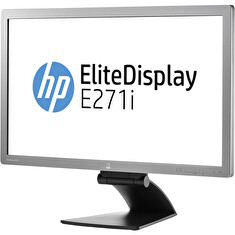 "LCD HP 27"" E271i; black/gray, B+"