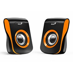 Genius Speakers SP-Q180, USB, Orange