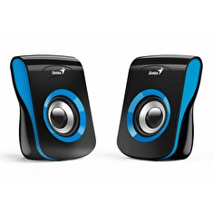 Genius Speakers SP-Q180, USB, Blue