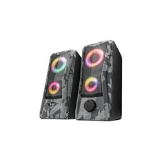 TRUST reproduktory GXT 606 Javv RGB-Illuminated 2.0 Speaker Set
