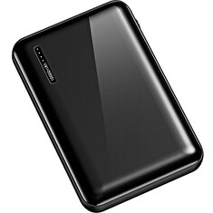 USAMS US-CD104 Dual USB Power Bank 5000mAh Black
