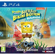 PS4 - Spongebob SquarePants: Battle for Bikini Bottom - Rehydrated Shiny Edition