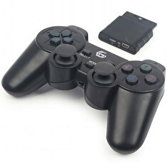 GEMBIRD JPD-WDV-01 Dual vibration gamepad WIFI bezdrátový, PS2-3/PC