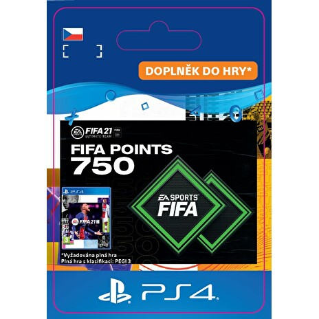 ESD CZ PS4 - FUT 21 – FIFA Points 750
