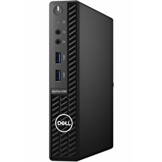 DELL OptiPlex 3080 Micro MFF/ i3-10100T/ 8GB/ 256GB SSD/ Wifi/ W10Pro/ 3Y Basic on-site