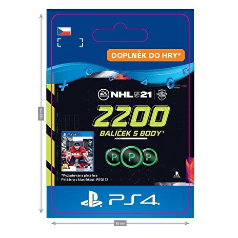 ESD CZ PS4 - NHL 21 – 2200 Points Pack