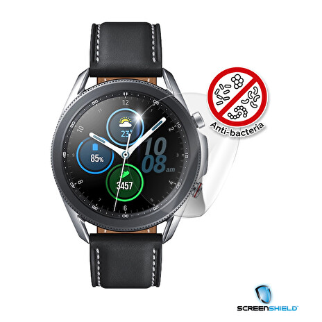 Screenshield Anti-Bacteria SAMSUNG R840 Galaxy Watch 3 (45 mm) folie na displej