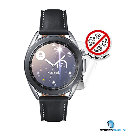 Screenshield Anti-Bacteria SAMSUNG R850 Galaxy Watch 3 (41 mm) folie na displej