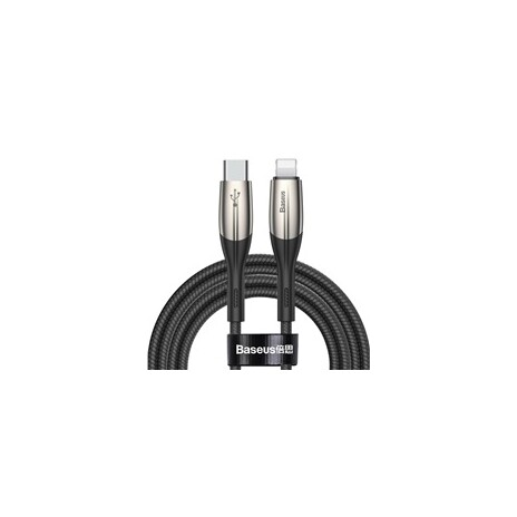Baseus Horizontal Data Cable Type-C to iP PD 18W 1m Black