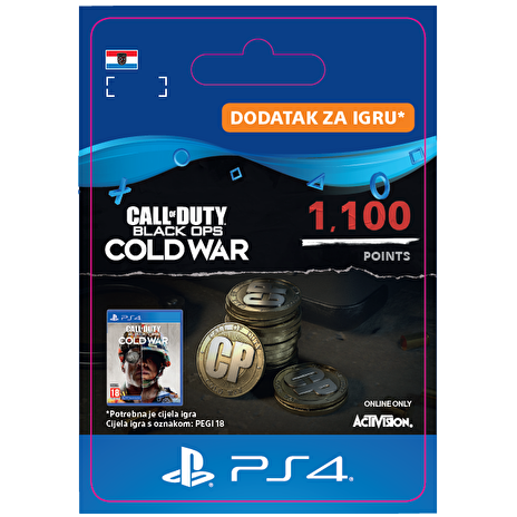 ESD HR - 1,100 Call of Duty®: Black Ops Cold War Points