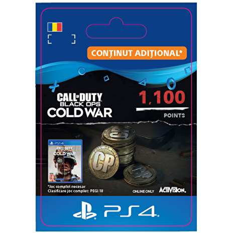 ESD RO - 1,100 Call of Duty®: Black Ops Cold War Points