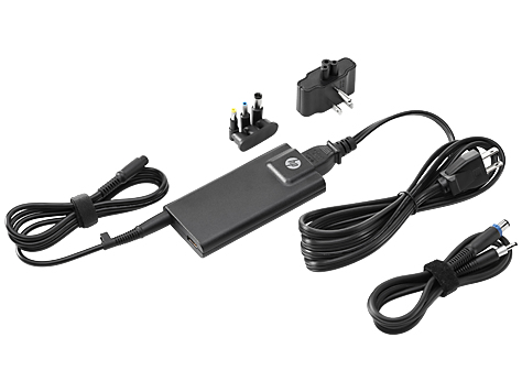 HP 65W Slim AC Adapter with USB - ADAPTER