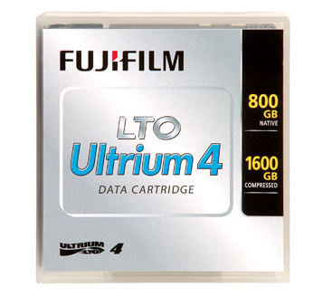 LTO-4 CR media, 5pack with label, Fuji