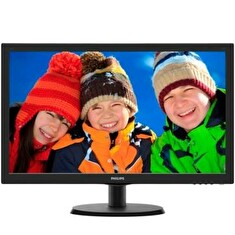 "PHILIPS 21,5"" LED 223V5LSB/ 1920x1080/ TFT/ 16:9/ 5ms/ 250cd/m2/ DVI/ D-SUB/ VESA 100x100/ černý"